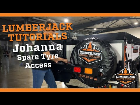 Johanna Ultra Light Spare Tyre Access