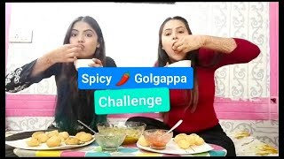 Spicy🌶 Golgappa Challenge With My Sister || Style With Me ||