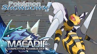 Mega Beedrill Pokemon Showdown OU Team Building w. macadii (Smogon ORAS OU Team)