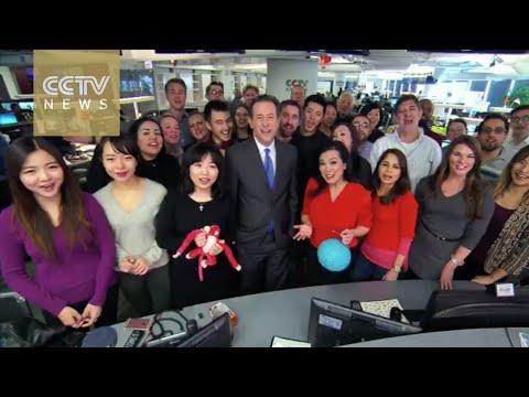 CCTV NEWS anchors bring you New Year greetings