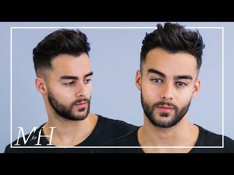 Men's Haircut and Style For Thinning Hair