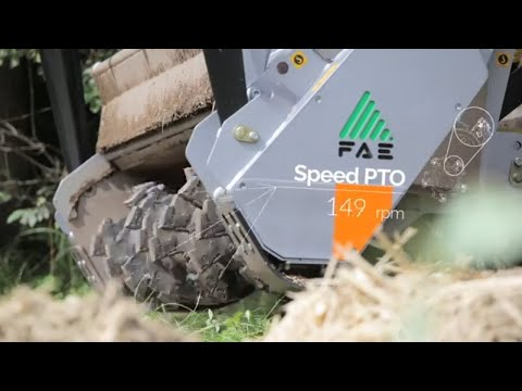 Video: FAE UMM / DT 225 Mulcher 1