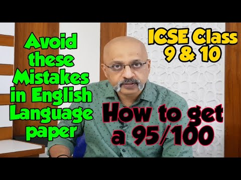 Super Tips to score High Marks in ICSE English Language Paper | Class 9 & 10 | HIGHLY RECOMMENDED