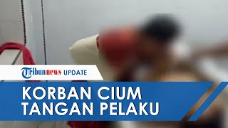 VIDEO Detik-detik Korban Cium Tangan Jasad Begal yang Bacok Tangannya, Pelaku Ditembak Polisi