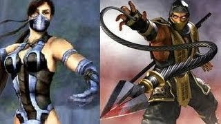 MK vs DC | 31 Scorpion vs Kitana (Dream Evil - Break the Chains - Scorpion's theme)