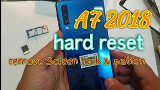 Como resetear Samsung Galaxy A7 2018 | (NO PUEDO APAGARLO) SM-A750G