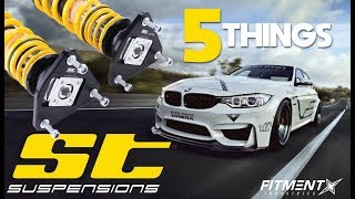 5 Things You Didn't Know About ST Suspension
