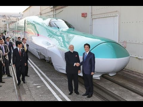 First Bullet Train In India 2018 Full Video