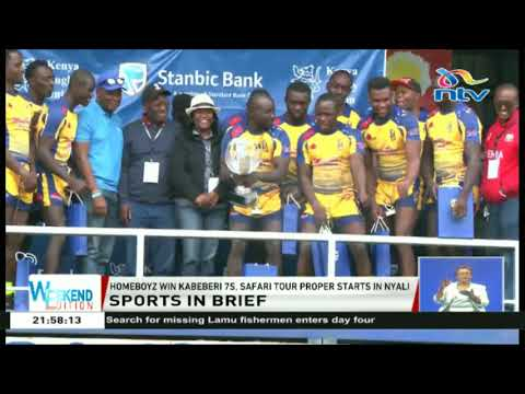 Sports brief: Homeboyz win Kabeberi 7s, Safari Tour Proper starts in Nyali