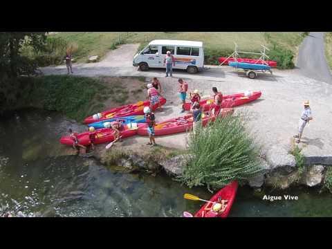 canoe en aveyron,