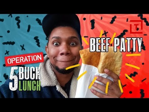 The Best Cheap Beef Patty in NYC || Operation $5 Lunch