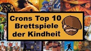 Top 10 Brettspiele der Kindheit - Cron