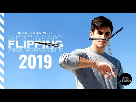 WCFC 2019 Balisong Flipping Competition at Blade Show West (LIVE BLADES) | Squid Industries