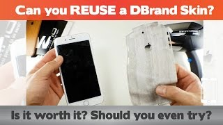 Can You REUSE A DBrand Skin?
