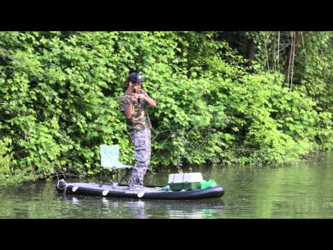 SAFE Inflatable SUP FISHING