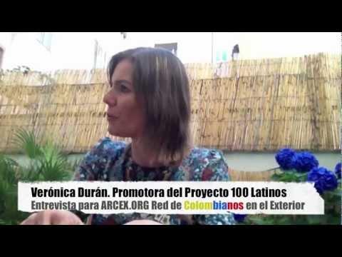 Entrevista a ver nica dur n promotora del proyecto 100 - Becas para colombianos en el exterior ...