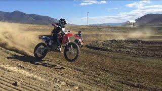 10 Year Old Rides 450 Dirt Bike