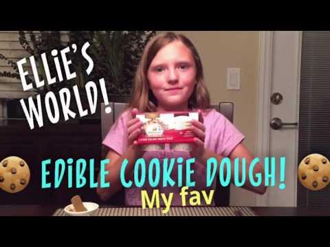 ELLIE'S FAV!!! Edible Cookie Dough!!!