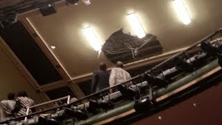 video: Several injured as Piccadilly Theatre ceiling collapses during Death of a Salesman performance