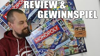 Monopoly Disney Classic Edition Unboxing & Review