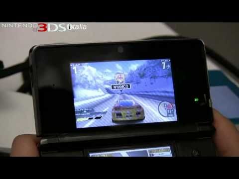 Видео № 2 из игры Ridge Racer 3D [3DS]