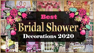 Easy Bridal Shower At Home Ideas | Best Bridal Shower Decorations | DIY Bride To Be Ideas