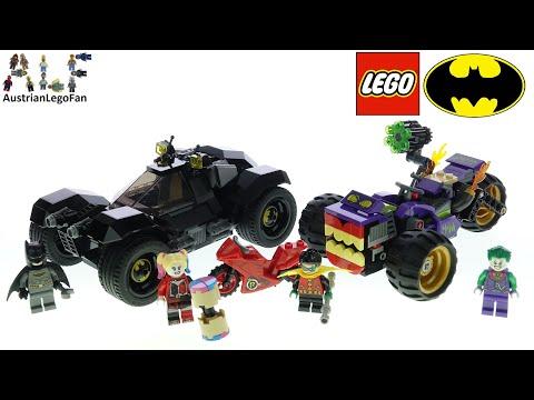 Vidéo LEGO DC Comics 76159 : La poursuite du Joker en moto à 3 roues