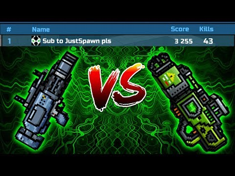 Pixel Gun 3D - INSTIGATOR VS TOXIC BANE