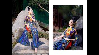 Người đẹp biển Nguyễn Hoàng Bảo Châu tạo hình với Áo dài Đỗ Trịnh Hoài Nam