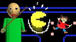 BALDI vs Pacman