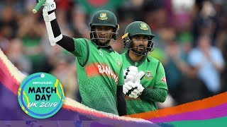 Bangladesh shatter records in Taunton with a 7-wicket win over West Indies