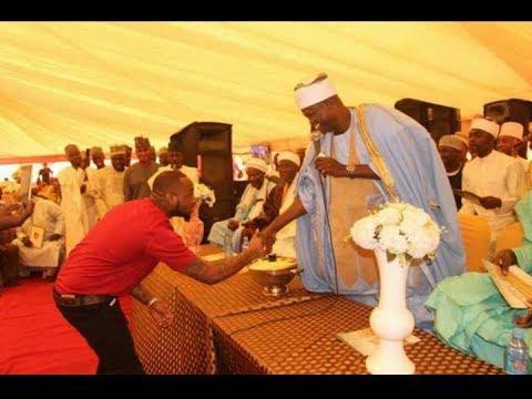 ODAJU OLOWO -   Sheikh Muyideen Salmon Imam Agba Offa with DAVIDO