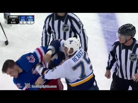 Ryan Reaves vs Dylan McIlrath