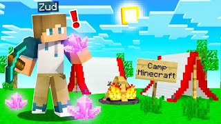 Finding MAGICAL CRYSTALS in Camp Minecraft! (Season 3)