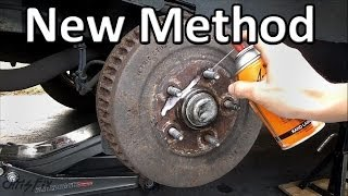 How to Remove a STUCK Drum Brake