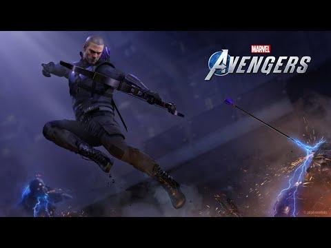 Marvel's Avengers   Hawkeye Tease de Marvel's Avengers