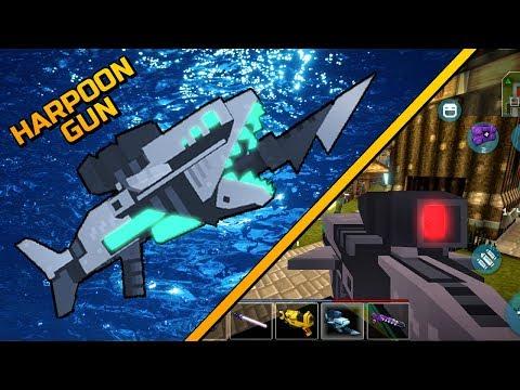 Harpoon Gun - Mad GunZ Gameplay