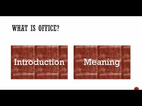 Introduction to Office Management - YouTube