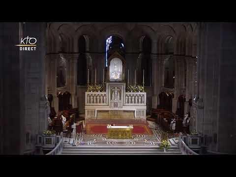 Prière du Milieu du jour du 5 juin 2021 des Bénédictines du Sacré-Coeur de Montmartre