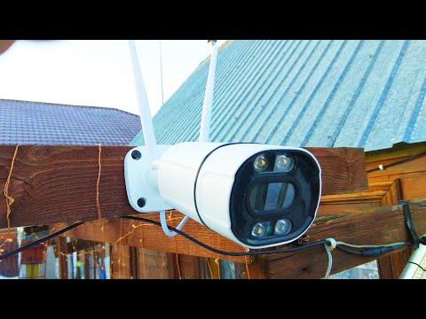 WiFi смарт камера видеонаблюдения Besder 5 MP / Wifi Smart CCTV Camera Besder 5 MP