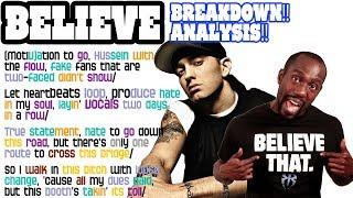 Eminem - Believe: Lyrics/Rhymes BREAKDOWN! ANALYSIS! and REACTION