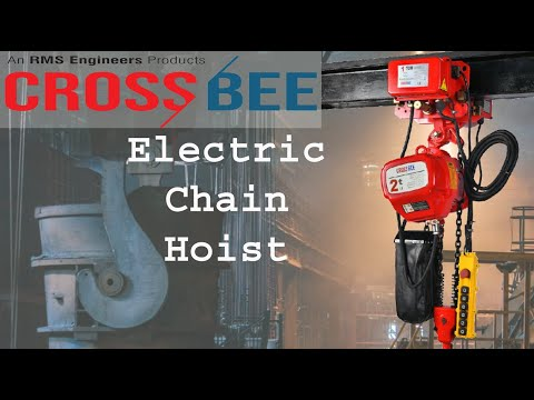 Electric Chain Hoist -3 Ton Capacity