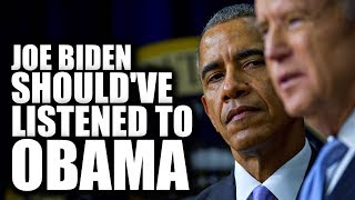"""Obama Tried to Convince Biden to Not Run, Fearing He'd """"Embarrass Himself"""""""
