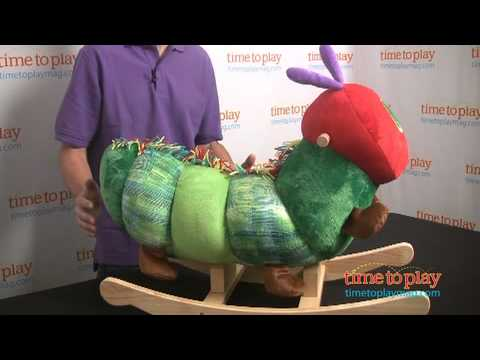 The World of Eric Carle The Very Hungry Caterpillar Rocker from Kids Preferred