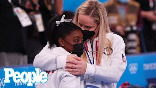 """Simone Biles Suddenly Exits Women's Team Event but Says She's """"Okay"""" 