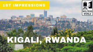 My First Impressions Of Rwanda - I Love It!