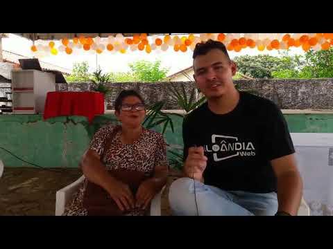Entrevista com a Sra Madalena pessoa muito querida em Aloândia