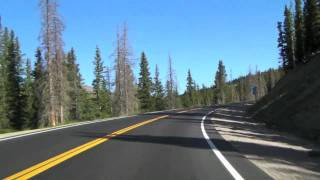 Hoosier Pass to Breckenridge.