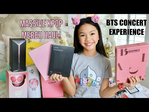 Download BTS CONCERT EXPERIENCE | MASSIVE MERCH HAUL!!! Mp4 HD Video and MP3