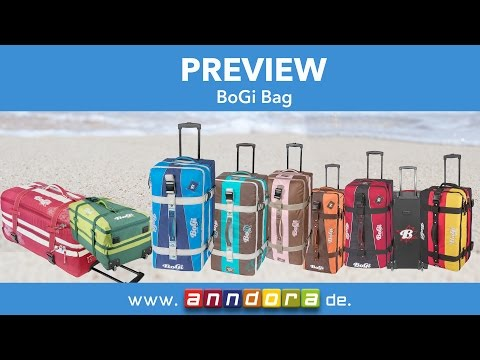 Bogi Bag Reisetasche Koffer alle Farben